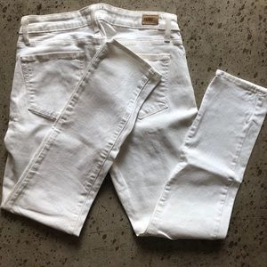 PAIGE White Denim Size 30